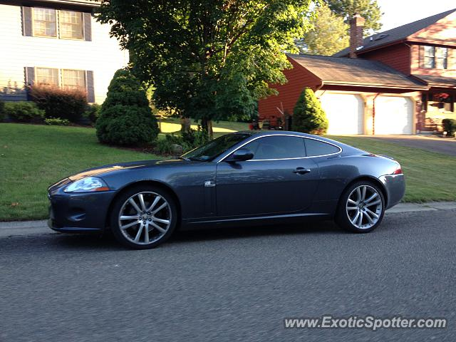 Jaguar XKR spotted in Endicott, New York