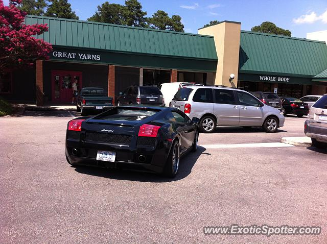 Lamborghini Gallardo Spotted In Raleigh North Carolina On 07 16