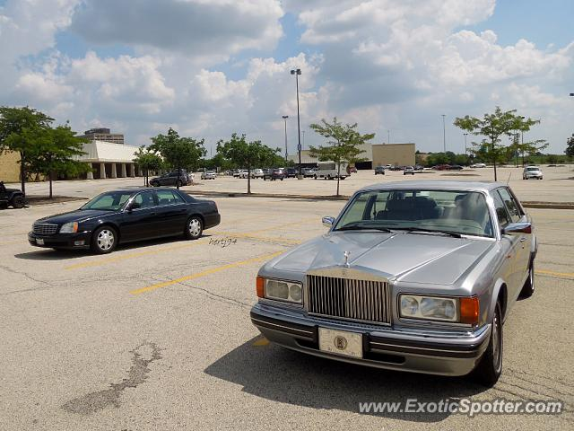 Rolls Royce Silver Dawn spotted in Schaumburg, Illinois