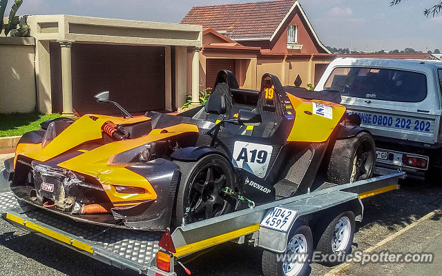 KTM X-Bow spotted in Johannesburg, South Africa
