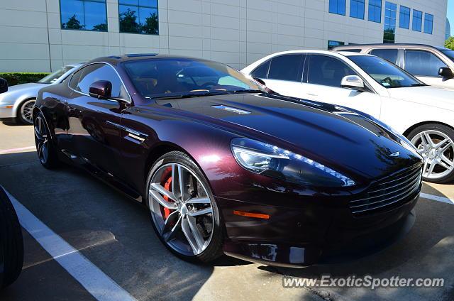 Aston Martin Virage Spotted In Dallas Texas On - Aston martin dallas