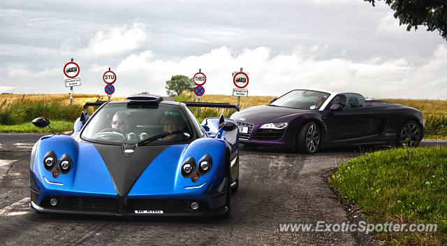 Pagani Zonda spotted in Wroughton, United Kingdom