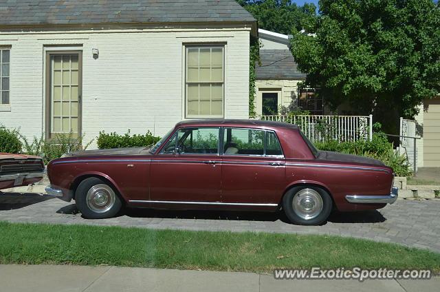 Rolls royce silver shadow spotted in dallas texas on 08 for Rolls royce motor cars dallas