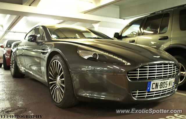aston martin rapide spotted in paris france on 07 11 2013 photo 2. Black Bedroom Furniture Sets. Home Design Ideas