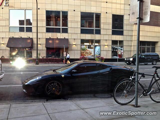 Ferrari F430 Spotted In Minneapolis Minnesota On 08 07 2013