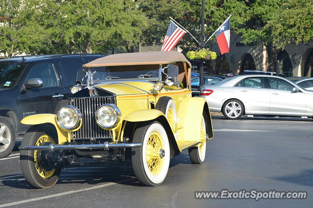 Rolls royce silver ghost spotted in dallas texas on 08 10 for Rolls royce motor cars dallas
