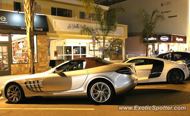 Mercedes slr spotted in la jolla california on 08 10 2013 for Mercedes benz la jolla