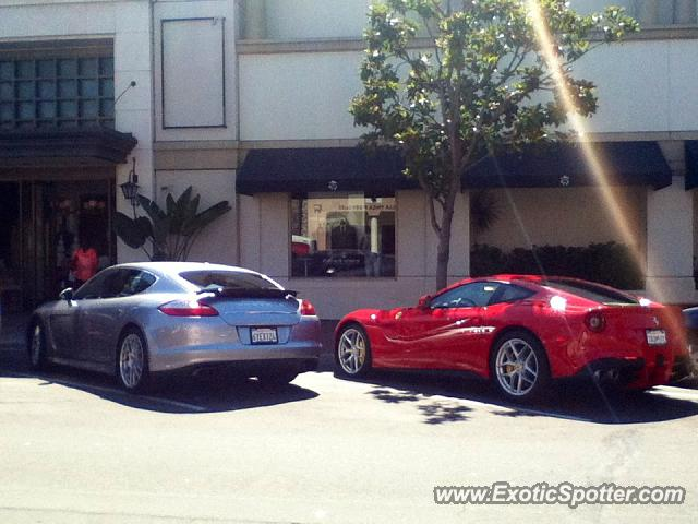 Ferrari F12 Spotted In San Diego, California