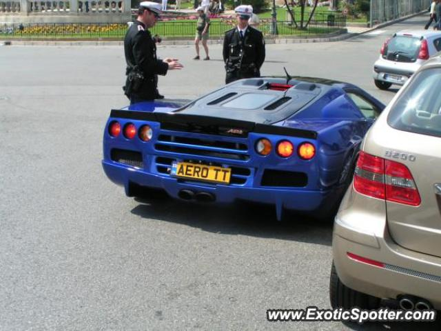 SSC Ultimate Aero spotted in Monte Carlo, Monaco