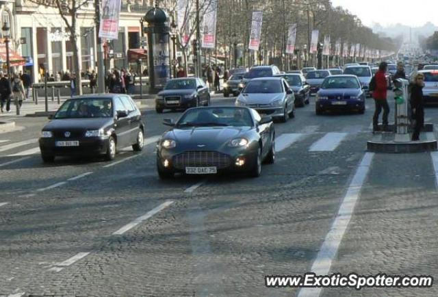 aston martin db ar 1 spotted in paris france on 05 11 2007. Black Bedroom Furniture Sets. Home Design Ideas