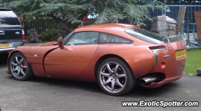 TVR Sagaris spotted in Dunfermline, United Kingdom
