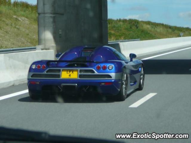 Koenigsegg CCX spotted in Rouen, France