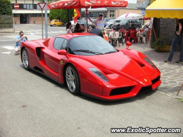 Ferrari Enzo Spotted In Maranello Italy On 06222007
