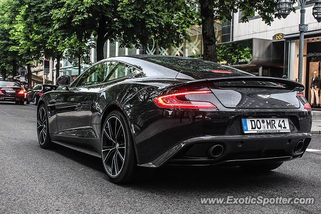 Aston Martin Vanquish Spotted In Düsseldorf Germany On 06 27 2013