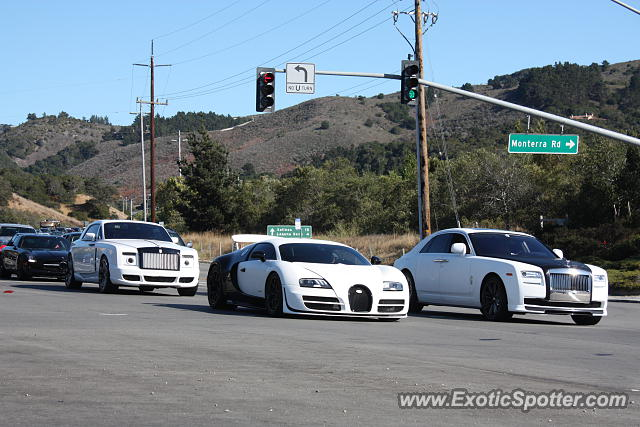 Bugatti Veyron spotted in Monterey, California