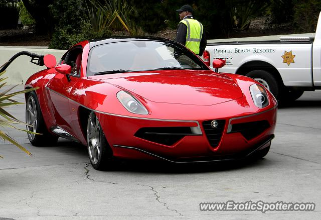 Alfa Romeo 8C spotted in Carmel, California