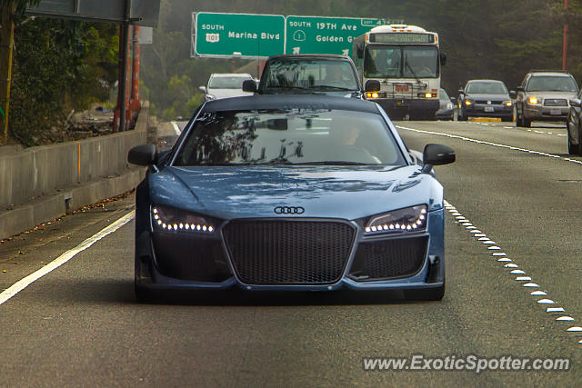audi r8 spotted in san francisco, california on 08/25/2013