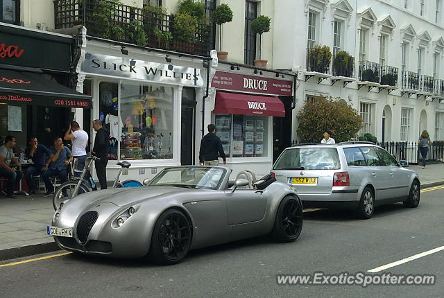 Wiesmann Roadster spotted in London, United Kingdom