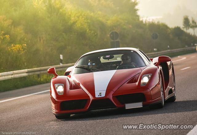 Ferrari Enzo spotted in A6, Germany