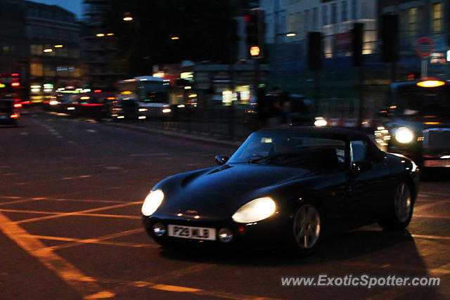 TVR Griffith spotted in London, United Kingdom