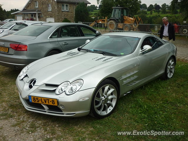 Mercedes slr spotted in bastogne luxembourg on 08 24 2013 for Mercedes benz luxembourg