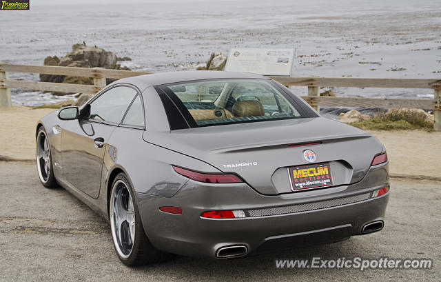 Fisker Tramonto spotted in Pebble Beach, California