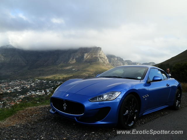 Maserati GranTurismo spotted in Cape Town, South Africa