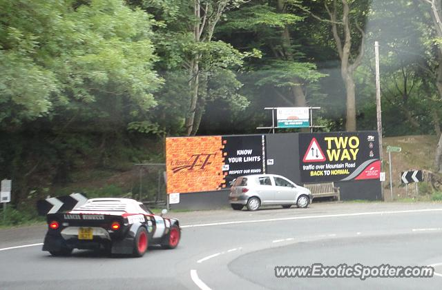 Lancia Stratos spotted in Ramsey, United Kingdom