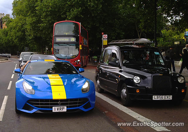 Ferrari F12 spotted in London, United Kingdom