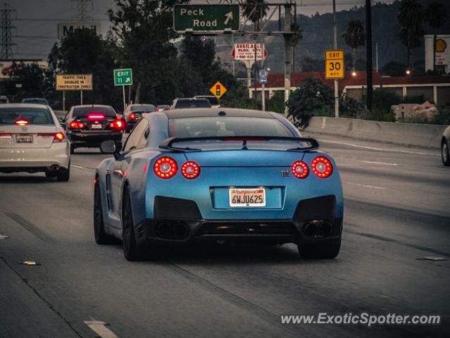 Nissan Los Angeles >> Nissan Gt R Spotted In Los Angeles California On 07 14 2013