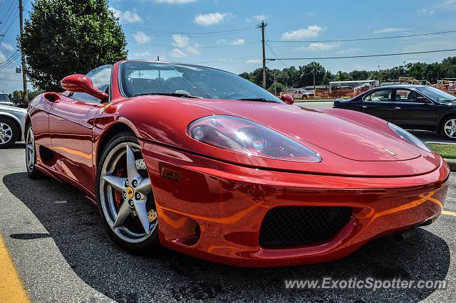Ferrari 360 Modena spotted in Cincinnati, Ohio on 06\/29\/2013