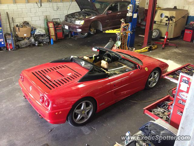 Ferrari F355 spotted in Kitchener, Ont, Canada