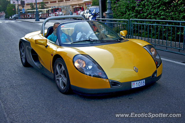 Renault Spider spotted in Monte-carlo, Monaco