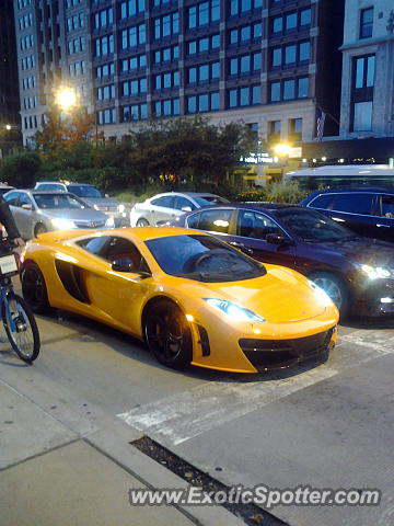 Mclaren MP4-12C spotted in Chicago, Illinois
