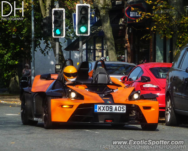 KTM X-Bow spotted in Alderley Edge, United Kingdom