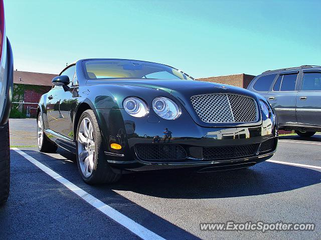 Bentley Continental spotted in Canton, Ohio