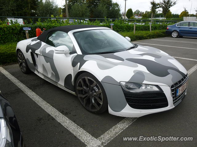 Audi R8 Spotted In Antwerp Belgium On 10 09 2013
