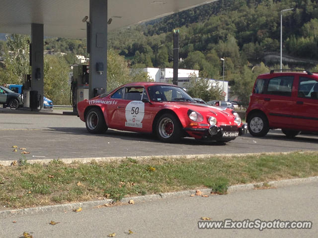 Renault Spider spotted in Glis, Switzerland