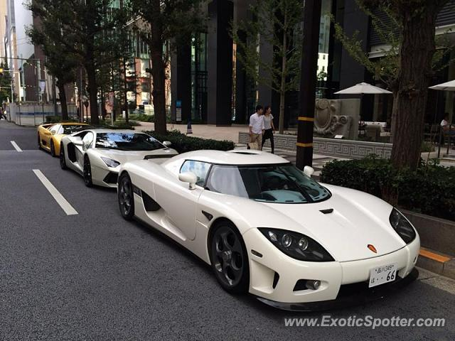 Koenigsegg CCX spotted in Tokyo, Japan