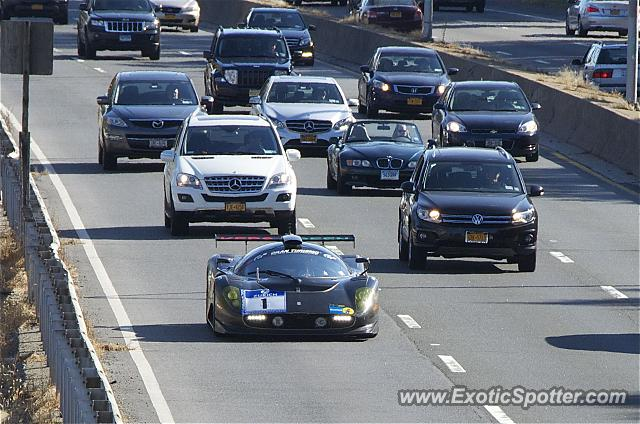 Ferrari P4/5 spotted in New York, New York