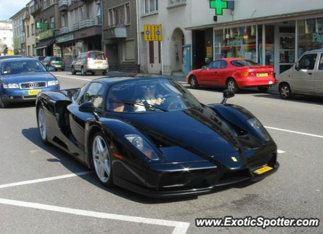 Ferrari Enzo Spotted In Luxembourg Luxembourg On 04092007 Photo 2