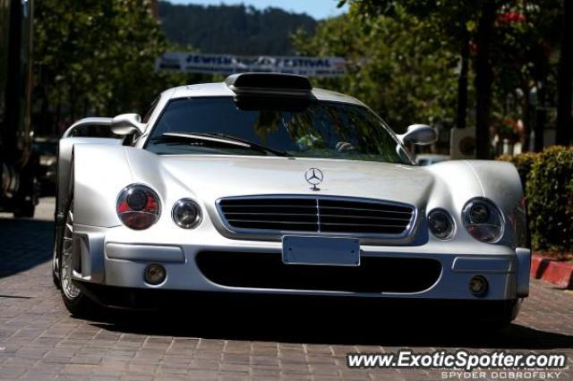 Mercedes CLK-GTR spotted in Monterey, California