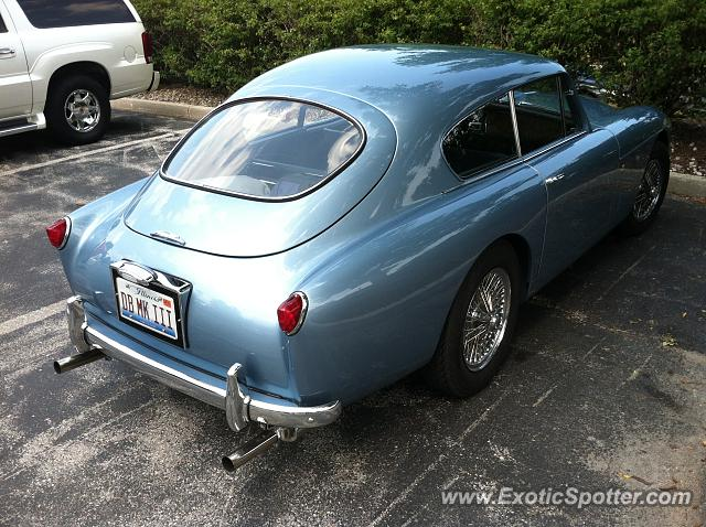 Aston Martin DB4 spotted in Elkhart Lake, Wisconsin
