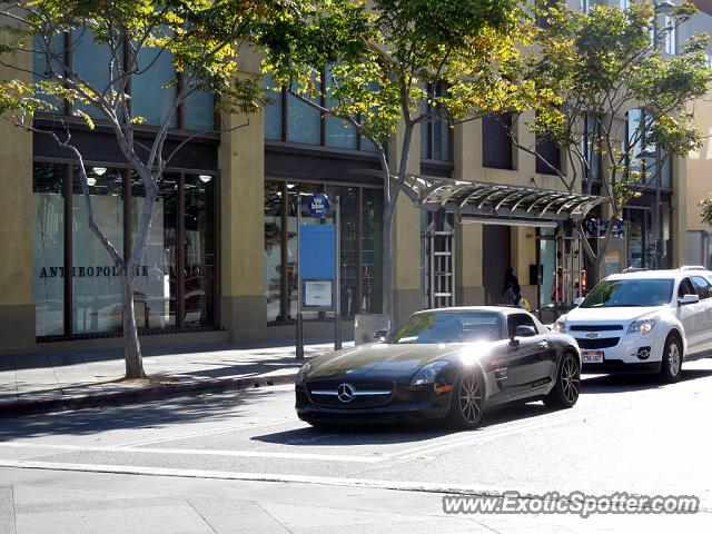 Mercedes sls amg spotted in santa monica california on 10 for Mercedes benz of santa monica