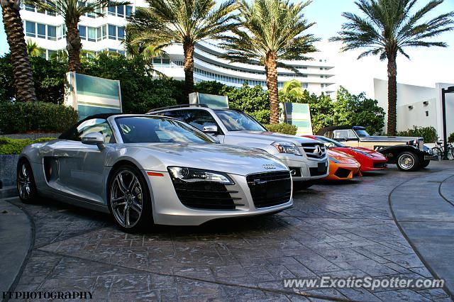Audi R Spotted In Miami Florida On Photo - Audi miami