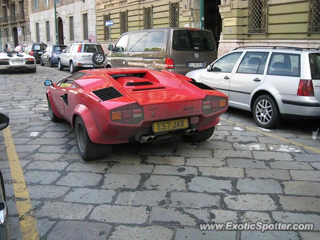 Lamborghini Countach Spotted In Milano Italy On 05 21 2013 Photo 2