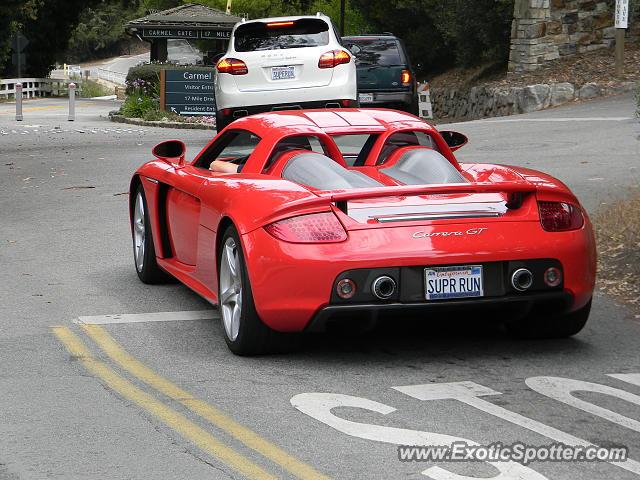 Porsche carrera gt spotted in carmel california on 08172013 porsche carrera gt spotted in carmel california publicscrutiny Images