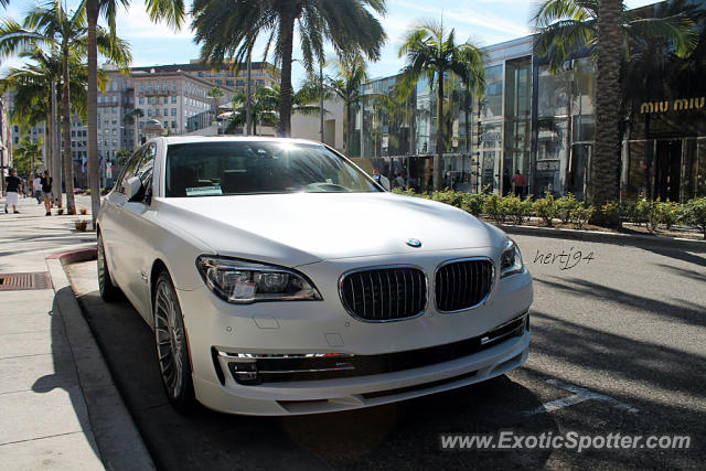 BMW Alpina B7 Spotted In Beverly Hills California