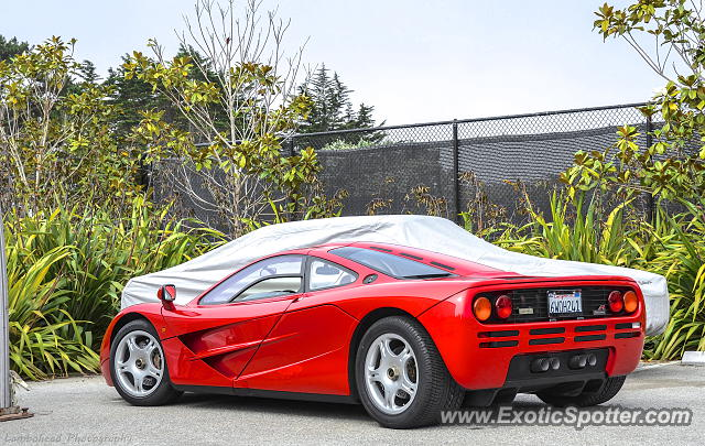 Mclaren F1 spotted in Carmel, California