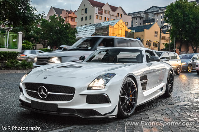 Mercedes SLS AMG spotted in Sandton, South Africa